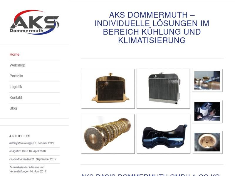Screenshot von http://www.aks-dommermuth.de/index.php